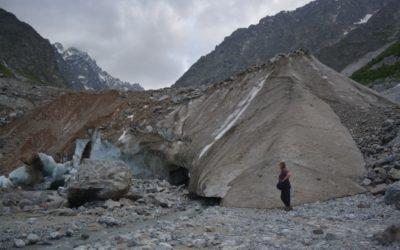Следы глобального потепления в Северо-Осетинском заповеднике